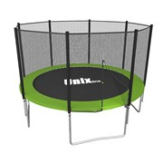 Батут UNIX line Simple 6 ft (outside) (Зеленый)