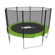 Батут UNIX line Simple 12 ft (outside) (Зеленый)