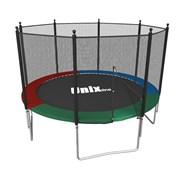 Батут UNIX line Simple 8 ft (outside) (Цветной)