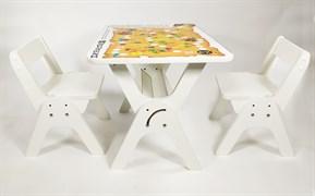 """Детский растущий стол-парта и два стула Я САМ """"Умка-Дуо"""" (Игра пират)"""