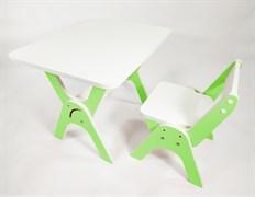 """Детский растущий стол-парта и стул Я САМ """"Умка"""" (Зеленый)"""