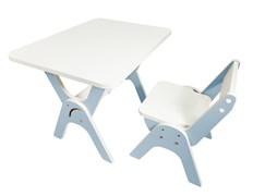 """Детский растущий стол-парта и стул Я САМ """"Умка"""" (Джинс)"""