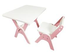 """Детский растущий стол-парта и стул Я САМ """"Умка"""" (Роза)"""